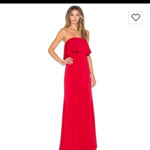 ed5ce65b10b Lovers + Friends. Lovers and friends red maxi gown